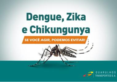 Dengue, Chikungunya e Zika Vírus