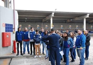 Jornada de visitas dos alunos do CIEE
