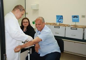 GT promove mutirão de coleta de sangue para aferir PSA de seus colaboradores