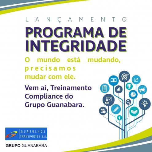 Lançamento Programa de Integridade