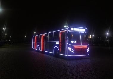 Ônibus de Natal, alegria ambulante